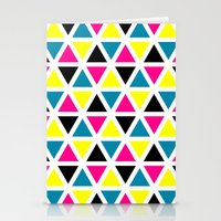 CMYK II Stationery Cards
