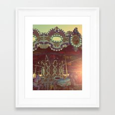 A Child's Dream Framed Art Print