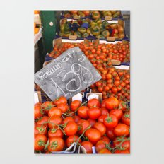 Market in Roma Canvas Print