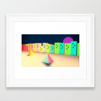 upe place Framed Art Print