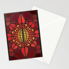 Eye of Sauron II Voronoi Stationery Cards
