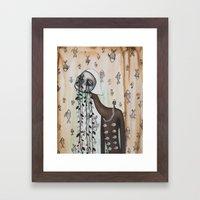 Crocodile Tears Framed Art Print