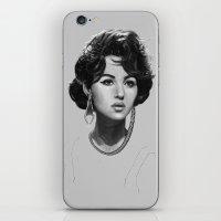 Monica Bellucci iPhone & iPod Skin