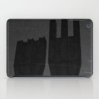 Mysterious Monument with Snow 1 iPad Case