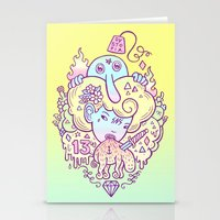 Dystopia Stationery Cards
