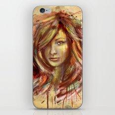 Olivia Wilde Digital Painting Portrait iPhone & iPod Skin