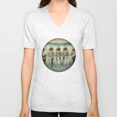 the diving bell Tuba quintet Unisex V-Neck