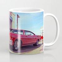 Impala red Mug