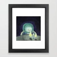 Mirando Framed Art Print