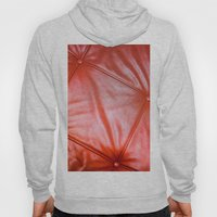 Red Buttons Hoody