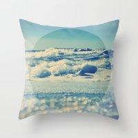 Sea Balance Throw Pillow