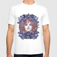 Legend Of The Sea Wolf (… Mens Fitted Tee White SMALL