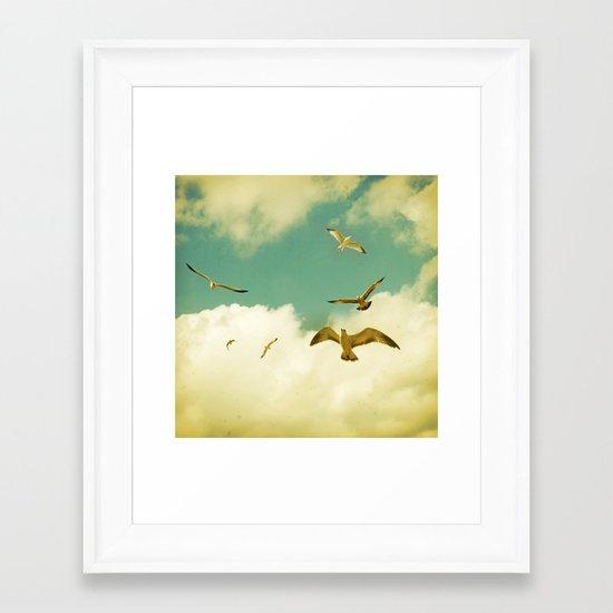 Ocean's Call Framed Art Print