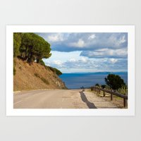 Beautiful Walk 6325 Art Print