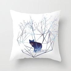 Organic Prison Throw Pillow