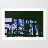 Silhouettes. Art Print