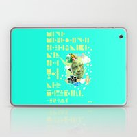 The Rain Said to The Wind, You Push & I'll Pelt. Laptop & iPad Skin