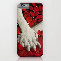 iPhone & iPod Case featuring Hands by MARIA BOZINA - PRINT