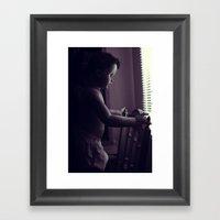 Curious V.3 Framed Art Print