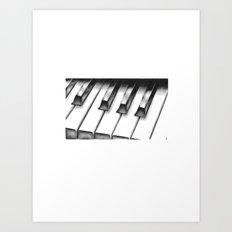 Piano Art Print