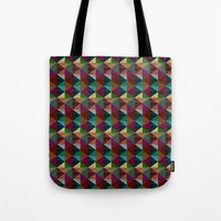 Cylinders and Bricks Tote Bag
