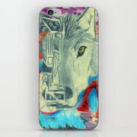Desert Wolf iPhone & iPod Skin