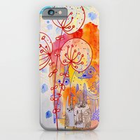iPhone & iPod Case featuring composition with bunnies by Marianna Tankelevich