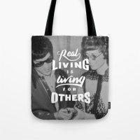 Bruce Says: Real Living Tote Bag
