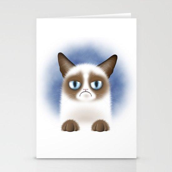 Nope (Grumpy Cat) Stationery Card