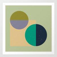 Rounds Art Print