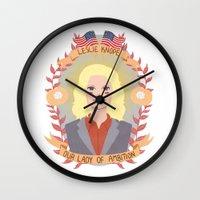 Leslie Knope Wall Clock