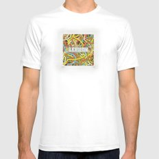 Lexicon Knox Mens Fitted Tee White SMALL