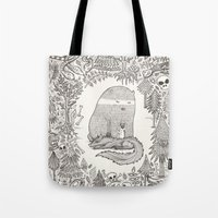 Froggle, Doggle And Pogg… Tote Bag