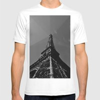 Colliding Times Mens Fitted Tee White SMALL