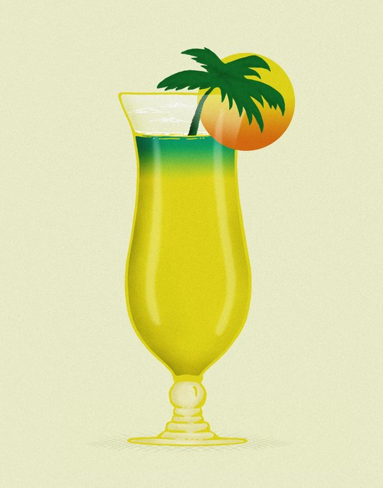 Garnish Sun Art Print