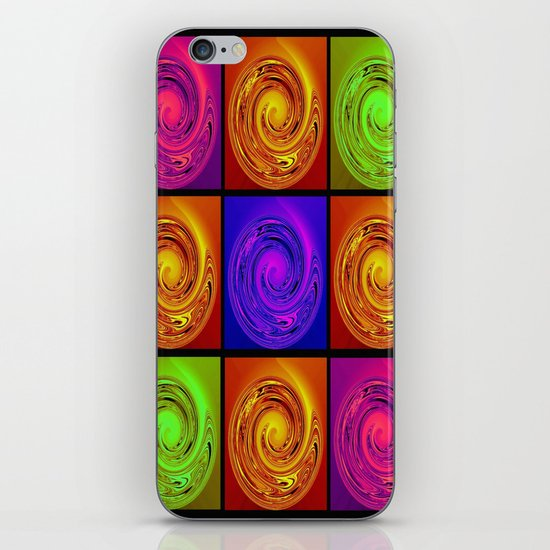 Abstract Collage Art iPhone & iPod Skin