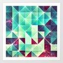 dyspwwzzybll dyymyndd Art Print
