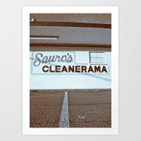 Sauro's Art Print
