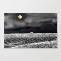Feeling Lonely Canvas Print