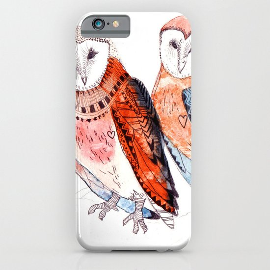 LOVE owls iPhone & iPod Case