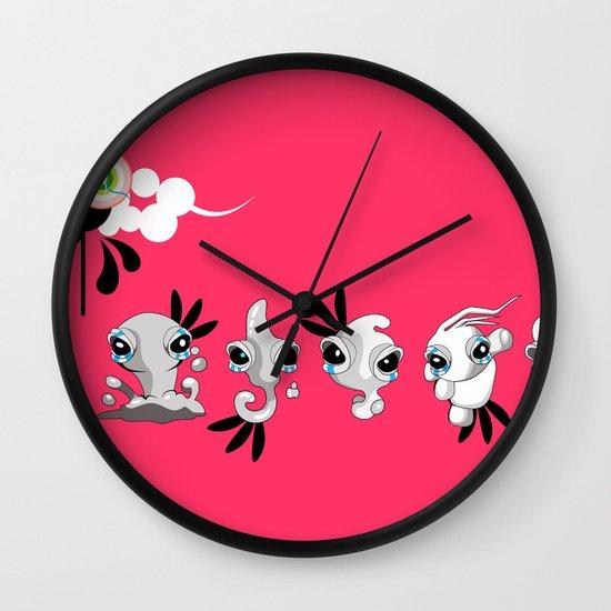 Smudglings Wall Clock