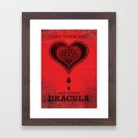 Bram Stoker's Dracula Framed Art Print