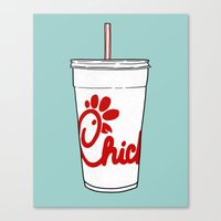 Chick-fil-a Canvas Print