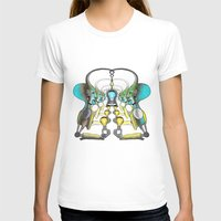 Luz Womens Fitted Tee White SMALL