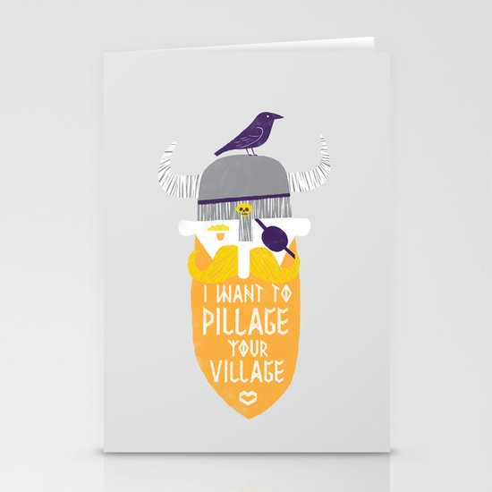 Pillage Stationery Card