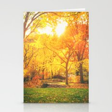 New York City - Autumn S… Stationery Cards