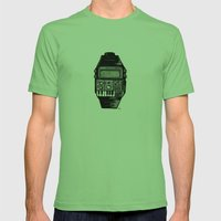 Synth Watch Mens Fitted Tee Grass SMALL