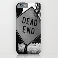 iPhone & iPod Case featuring Dead End by Cemetery Prints Inc.