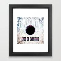 Eyes of Eventide Framed Art Print