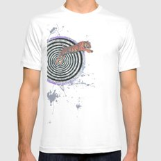 Ripe White Mens Fitted Tee SMALL